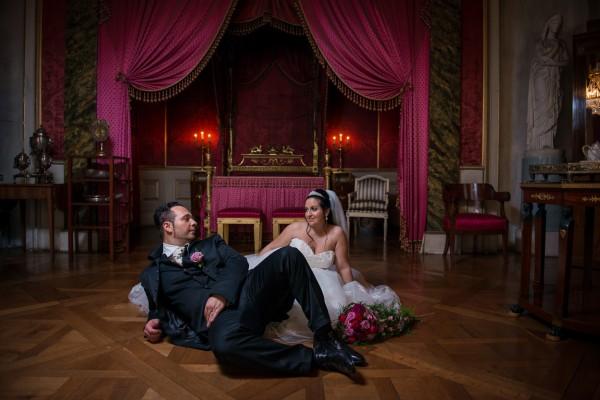Hochzeitsfotoshooting im SchlossLudwigsburg